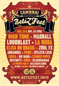 Visuel affiche BetiZFest 2011